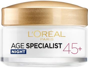 Крем для лица L´Oreal Paris Age Specialist 45+ Night Cream, 50 мл