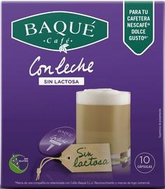 Cafe Baque Lactose Free White Coffee komposteeritavad kohvikapslid, 10 kapslit