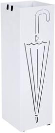 Подставка для зонтов Songmics Umbrella, белый, 155x155x490 мм
