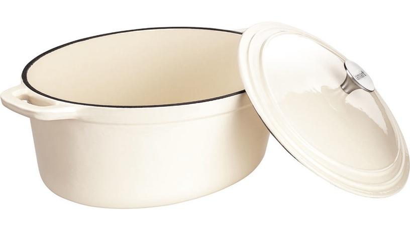 Lamart Cast Iron Pot with Lid LT 1062 Cream