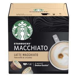 Kohvikapslid Starbucks Latte Macchiato Dolce Gusto, 129 g