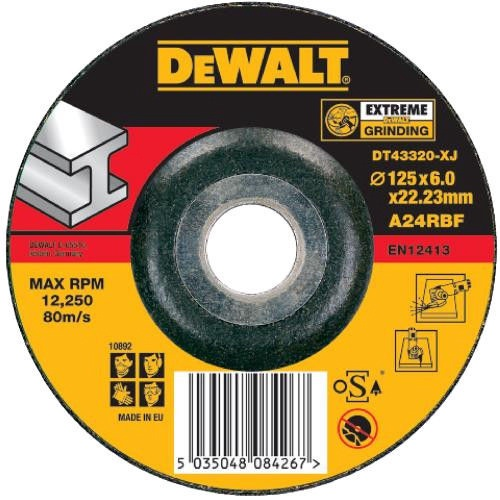 DeWALT DT43320-XJ Metal Cutting Disc DPC 125mm