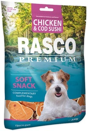 Rasco Dog Premium Snacks Chicken & Cod Sushi 230g