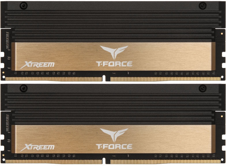 Team Group T-Force Xtreem Gold 8GB 3866MHz CL18 DDR4 KIT OF 2 TXGD48G3866HC18ADC01