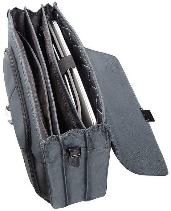 "Samsonite XBR 3 Briefcase 15.6"" Grey"