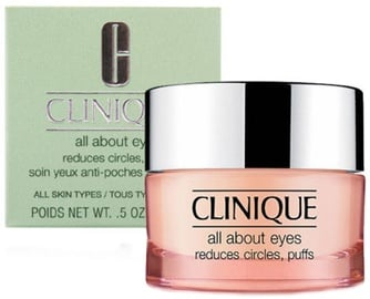 Крем для глаз Clinique All About Eyes All Skin, 15 мл