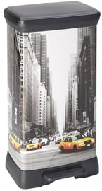 Curver Deco Bin 50l New York