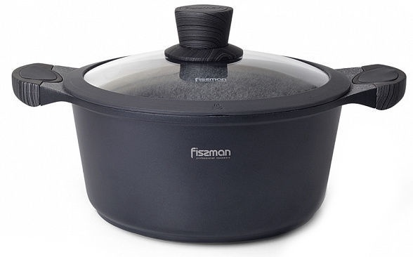 Fissman Prestige Casserole With Glass Lid D20cm 2.4l
