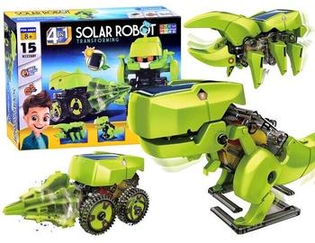 4in1 Solar Robot Transforming Dinosaur