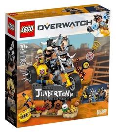 Конструктор LEGO® Overwatch 75977 Крысавчик и Турбосвин