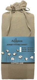 Ardenza Jersey Fitted Sheet 90-100x200cm Oyster
