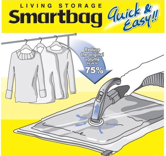 Lock&Lock Vacuum Bag 2PCS Smartbag X-Large 95x100cm