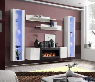 ASM Fly M2 Living Room Wall Unit Set White
