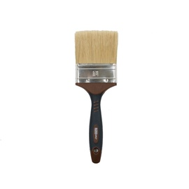 HausHalt Flat Brush RJ3348 Mixed Black/Brown 76mm