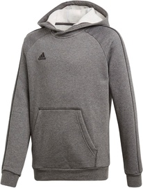 Adidas Core 18 Hoodie JR CV3429 Grey 116cm