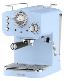 Swan Retro Pump Espresso Blue