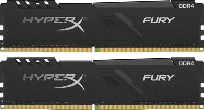 Kingston HyperX Fury Black 32GB 2400MHz CL15 DDR4 KIT OF 2 HX424C15FB3K2/32