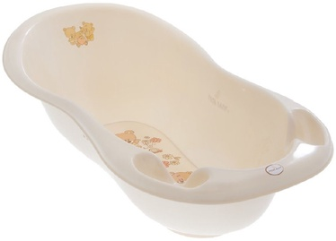 Tega Baby Bathtub Teddy Bear MS-005 102cm Pearl Beige