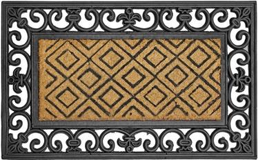 Diana Doormat 45x75cm Brown/Black