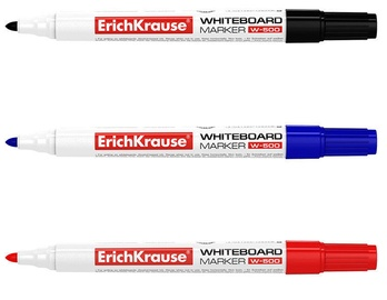 ErichKrause Whiteboard Marker W-500 3pcs