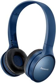 Panasonic RP-HF410BE-K Bluetooth On-Ear Earphones Blue