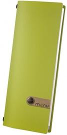 Dag Style Fashion Menu Cover 10.5 x 29.7cm Green
