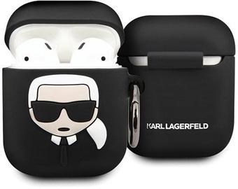 Karl Lagerfeld Ikonik Case For Apple AirPods Black