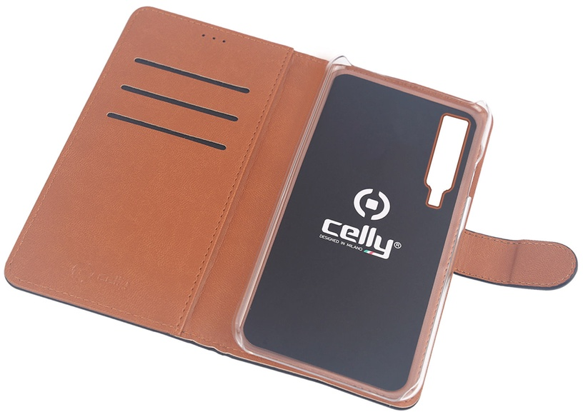 Celly Wally Case For Samsung Galaxy A7 A750 Black