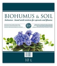 Biohuumus võrsetele ja lilledele Biohumus & Soil 10 l