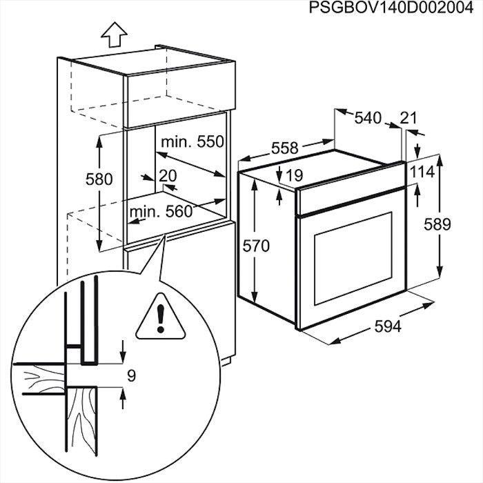 Духовой шкаф Electrolux EZB 3430AOK
