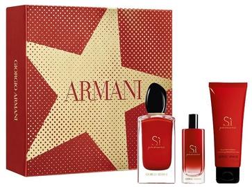 Женский парфюмерный набор Giorgio Armani SI Passione 100 ml EDP + 75 ml Body Lotion + 15 ml EDP