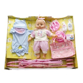 Nukk Lovley Toys Baby Carriage Set Assort