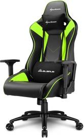 Игровое кресло Sharkoon Elbrus 3 Black/Green