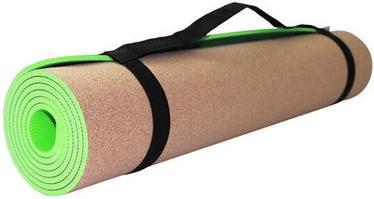 SportVida Eco Exercise Fitness & Yoga Mat Green