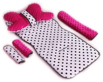 Babylove Stroller Set Dots/Pink 95227