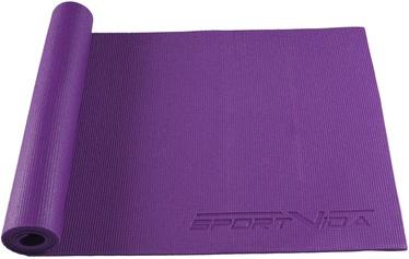 SportVida NBR Exercise Fitness & Yoga Mat Purple