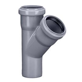 Magnaplast 3-Way Connector Pipe Grey 45° 110mm