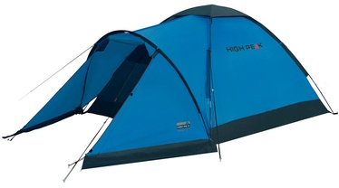 3-местная палатка High Peak Ontario 3 10171, синий/серый
