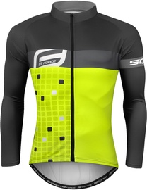 Force Square Shirt Electro Yellow/Grey M