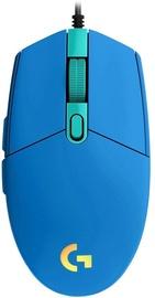Игровая мышь Logitech G102 Lightsync, синий, проводная, оптическая
