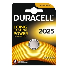 Duracell CR2025 Lithium Battery x 1