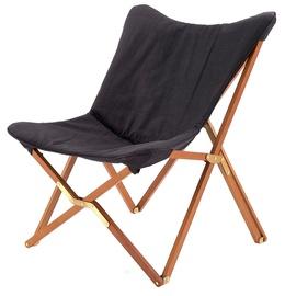 Halmar Volant Folding Leisure Chair Dark Grey