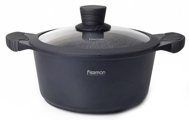 Fissman Prestige Casserole With Glass Lid D24cm 4.3l