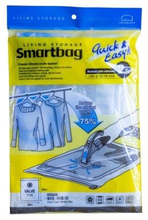 Lock&Lock Vacuum Bag 2PCS Smartbag Medium 48x60cm