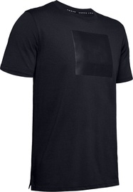Under Armour Mens Unstoppable Knit T-Shirt 1345643-001 Black XL