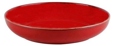 Porland Seasons Shallow Bowl D22cm Red
