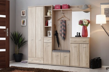 ASM Armario IV Hallway Wall Unit Set Sonoma Oak