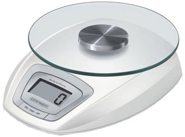 Leifheit Electronic Kitchen Scales With Plate 5kg