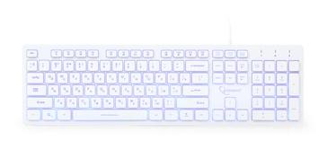 Gembird UML3-01 Multimedia Keyboard RU White