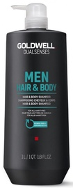 Šampoon Goldwell Dualsenses For Men Hair & Body, 1000 ml